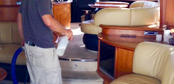 Boat Carpet & Upholstery Cleaning Services